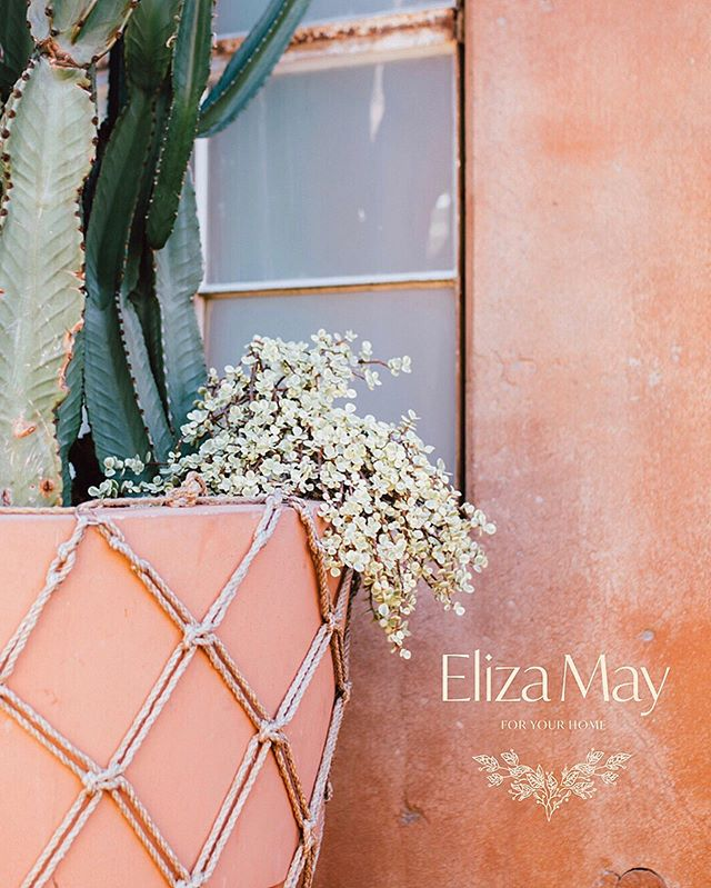 Brand identity for Eliza May.