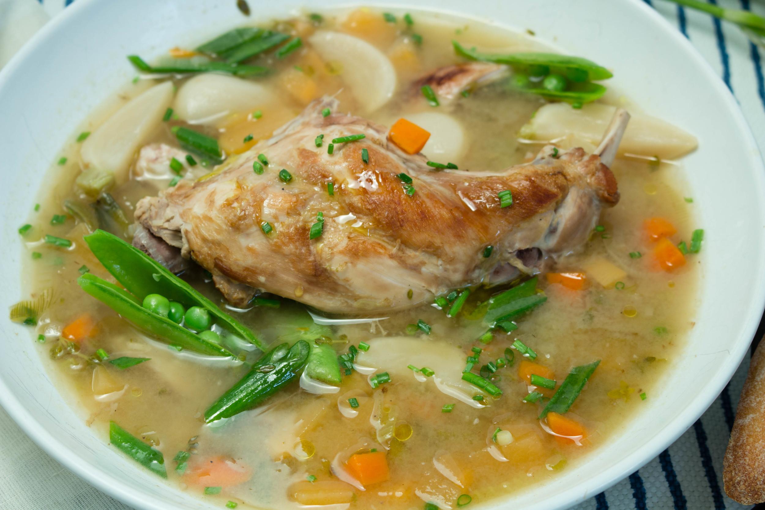 Spring Rabbit Soup