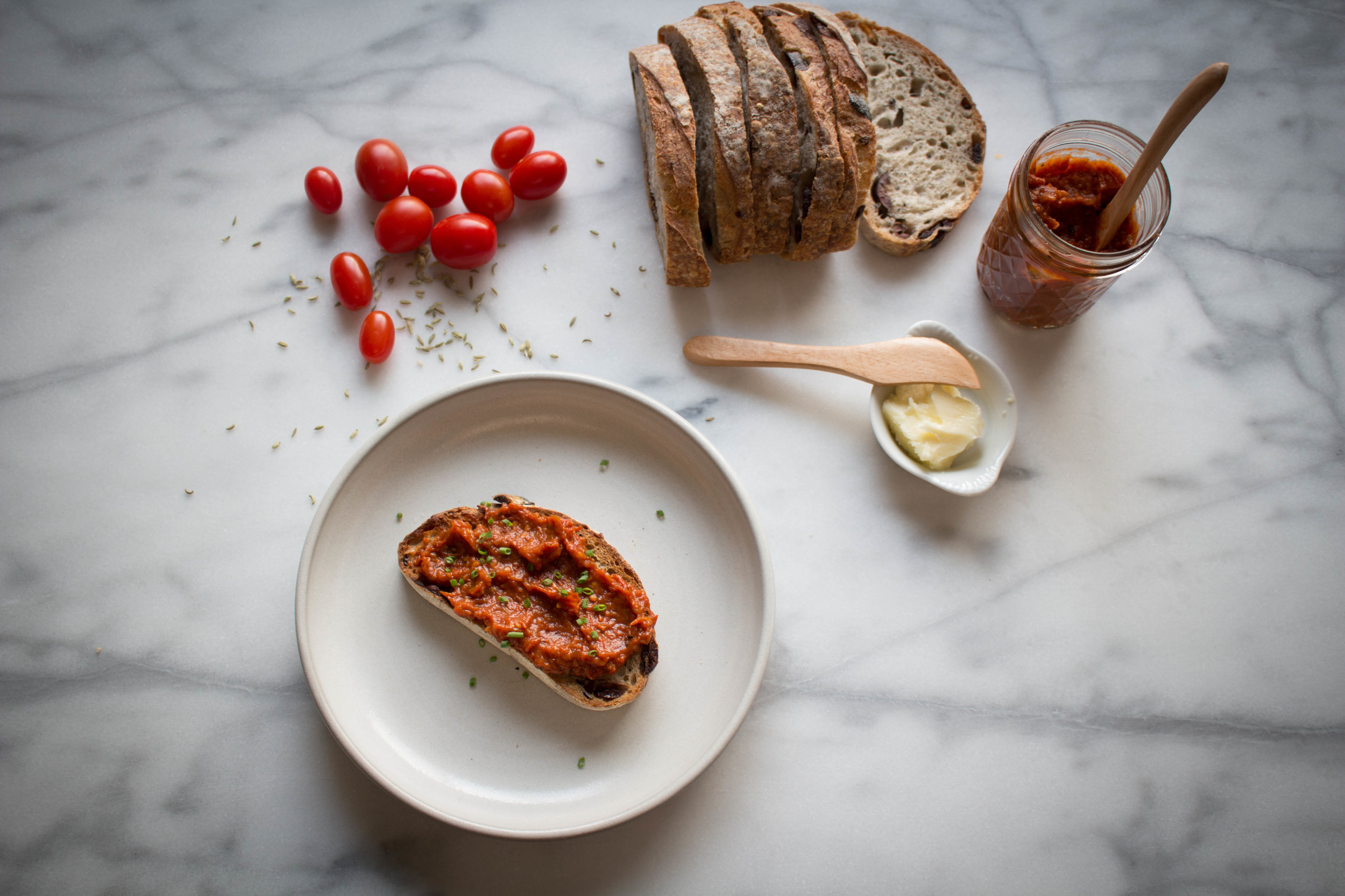 Tomato and Toasted Fennel Seed Jam