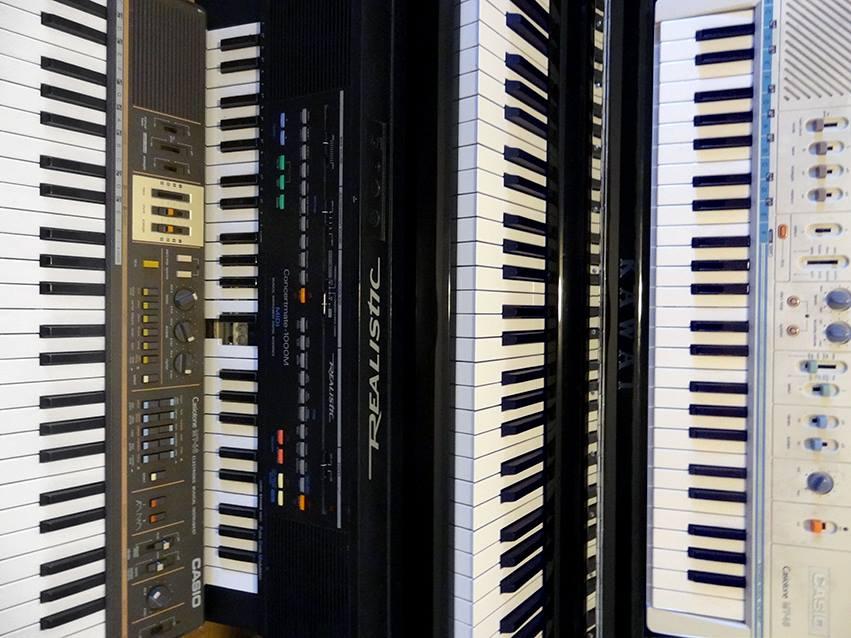 Teodora and Assaf's keyboards