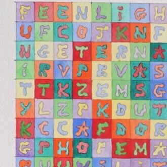 God in some 46 words Watercolor on #moulinricharddebas  #abstractpainting #painting #artoftheday #artcollectors #wiggleart #alphabet #god #vasarely #danielsmithwatercolor #watercolor #aquarelle #emergingart #art #painting #contemporaryart #artcontemporain #brooklynart #americanart #spiritual #spiritualart #psychedelicart #weedartist #transcendental #artworld #fineart #nycart #santafeart  Martinrixeart.com
