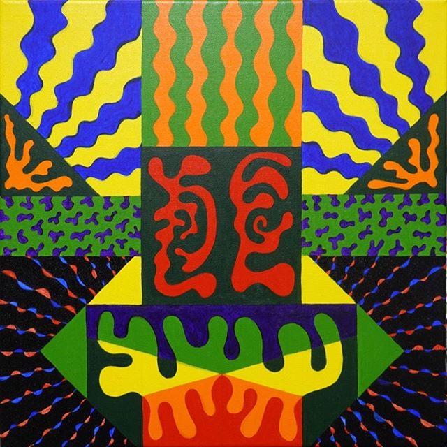 Twins  Acrylic 40x40cm 2019 Ambert France . . . #emergingart #tameimpala #artcurator #artcollectors #contemporaryart #artist #abstractart #prattinstitute #psychedelicart #psychedelicrock #twins #art #fineart #transcendentalart #transcendentalpaintinggroup #santafeart #brooklynart #nycart #artistsoninstagram #artoftheday