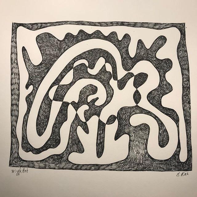 #sketchdaily #drawing #rotring #inked