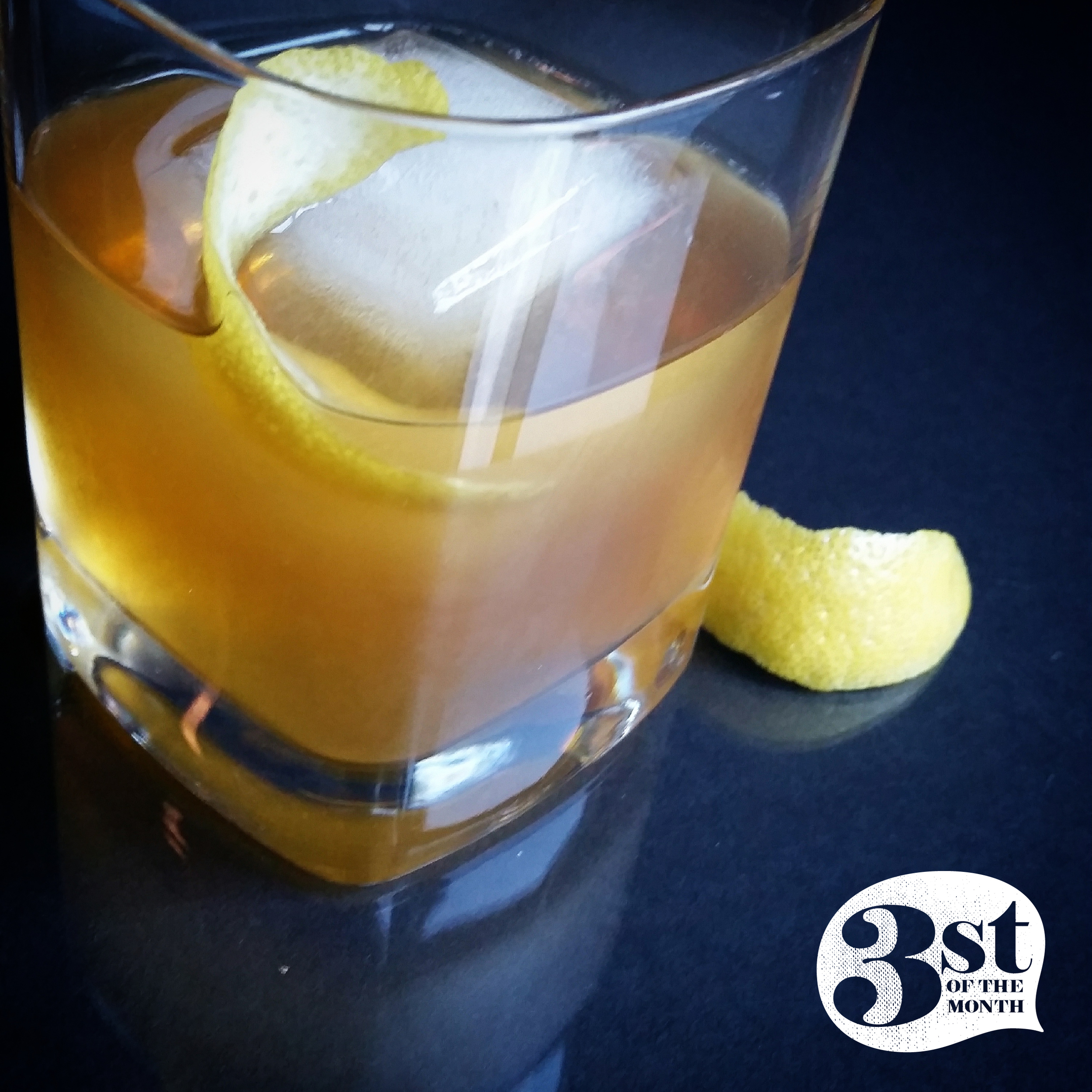 3st of the Month presents: the Demonbreun Hill - a boozy single malt cocktail enhanced with gomme syrup