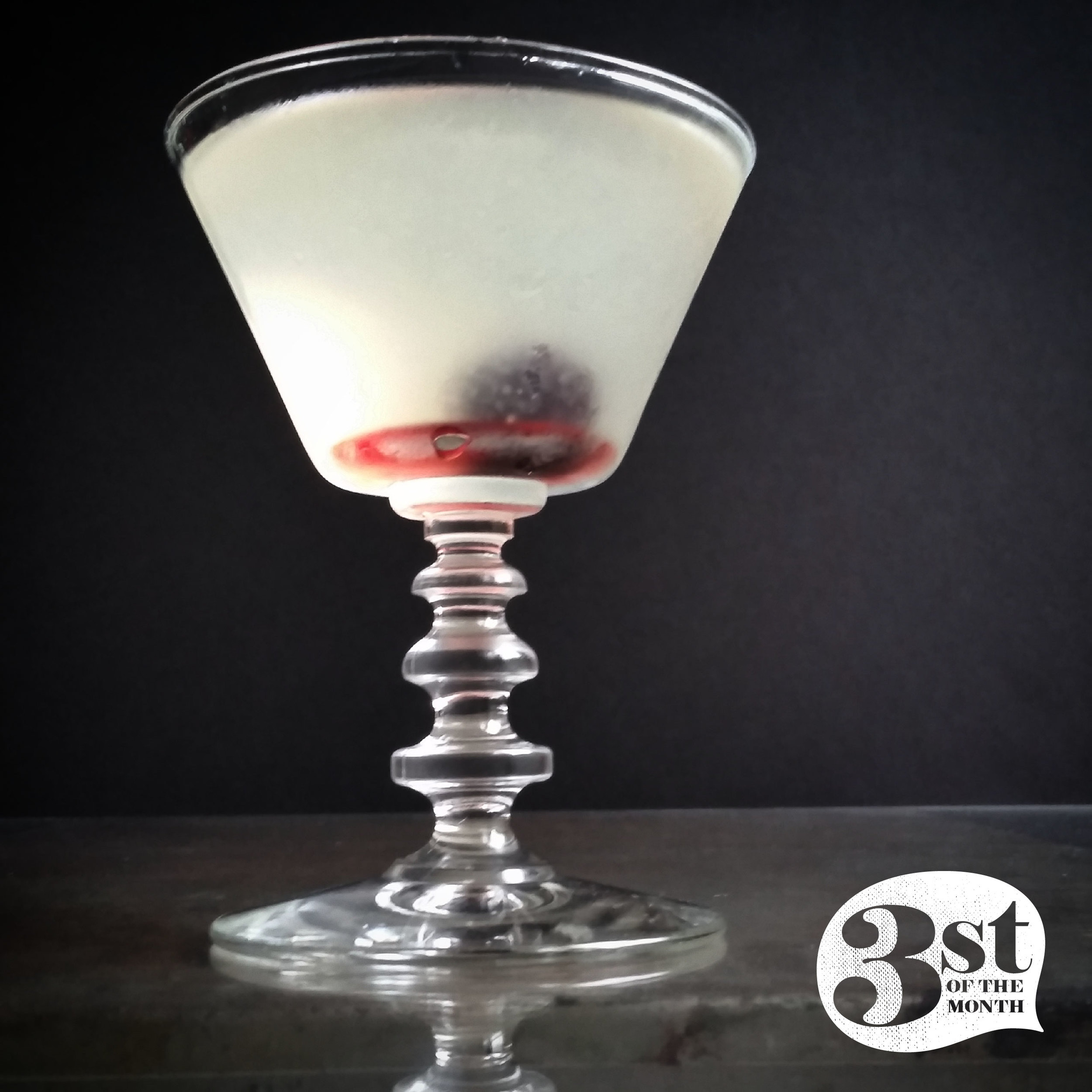 Take the Train, a reinvention of the Aviation cocktail from 3st of the Month