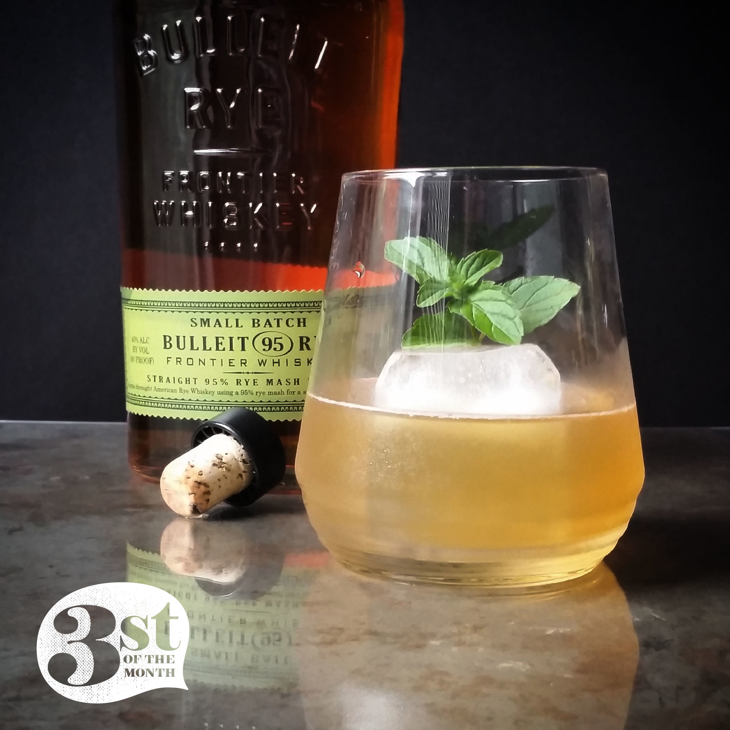 The Rye Tea cocktail from 3st of the Month - damn drinkable!