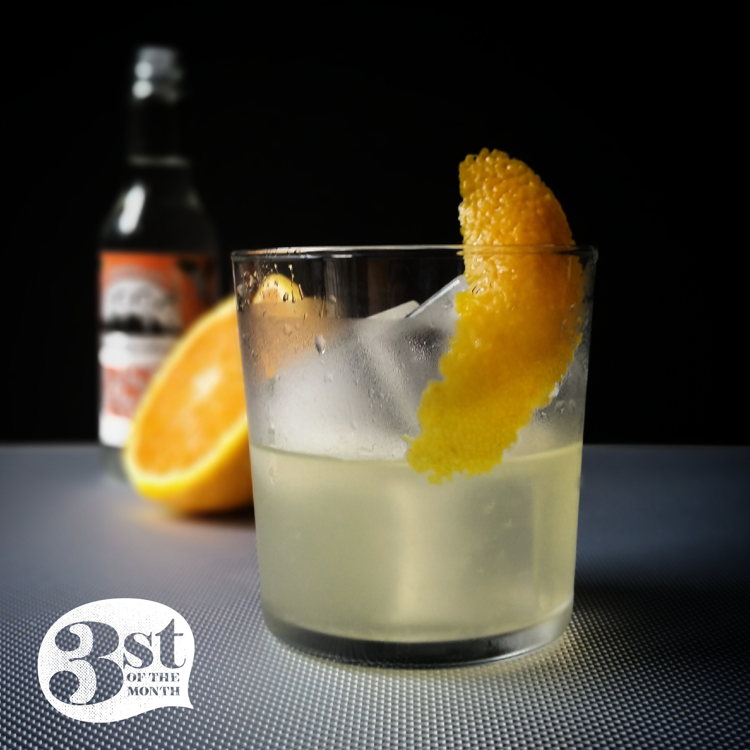 3st of the Month's Jalisco Bloom cocktail - made with tequila, orange liqueur, orange juice and orange flower water