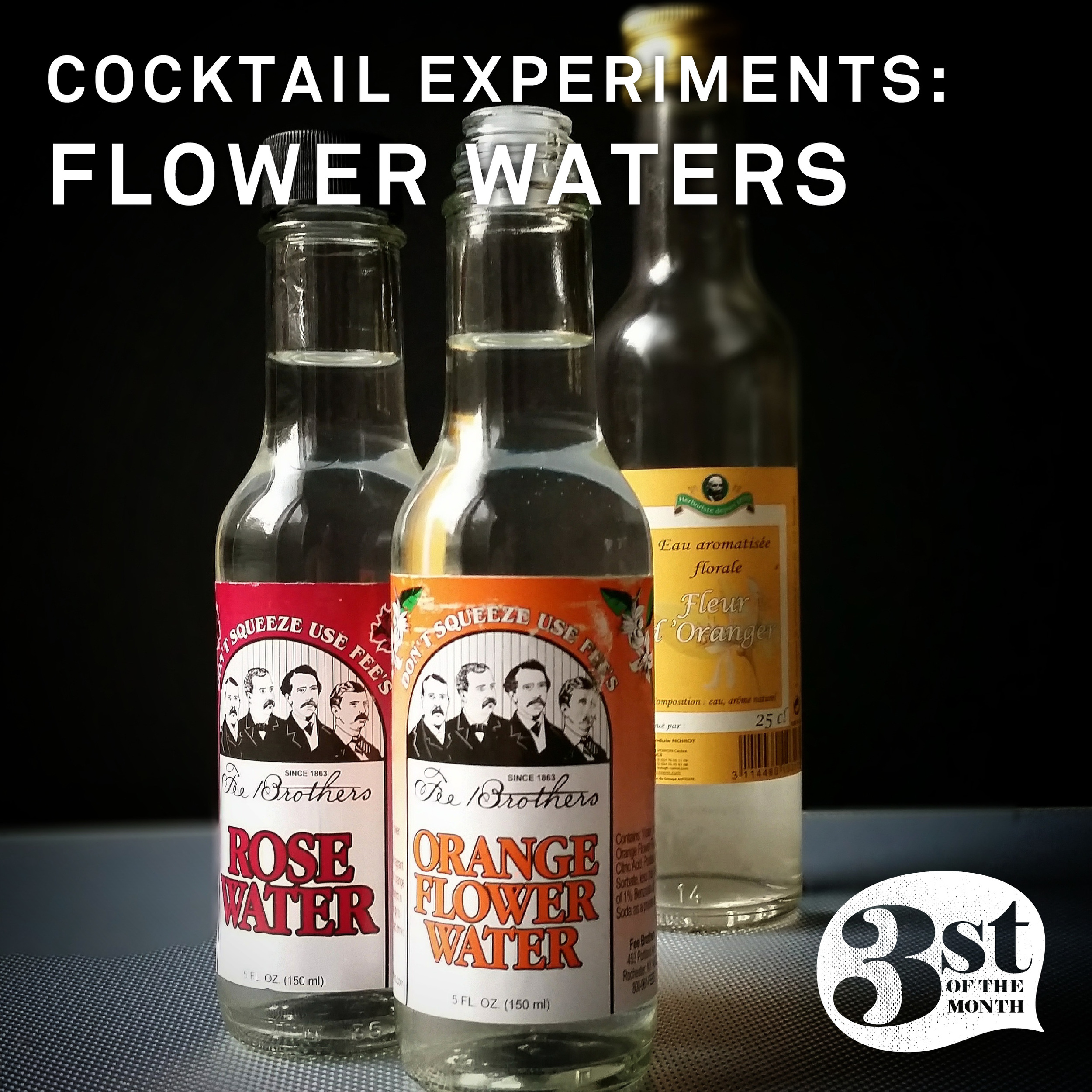 Experimenting with Flower Waters   3st of the Month