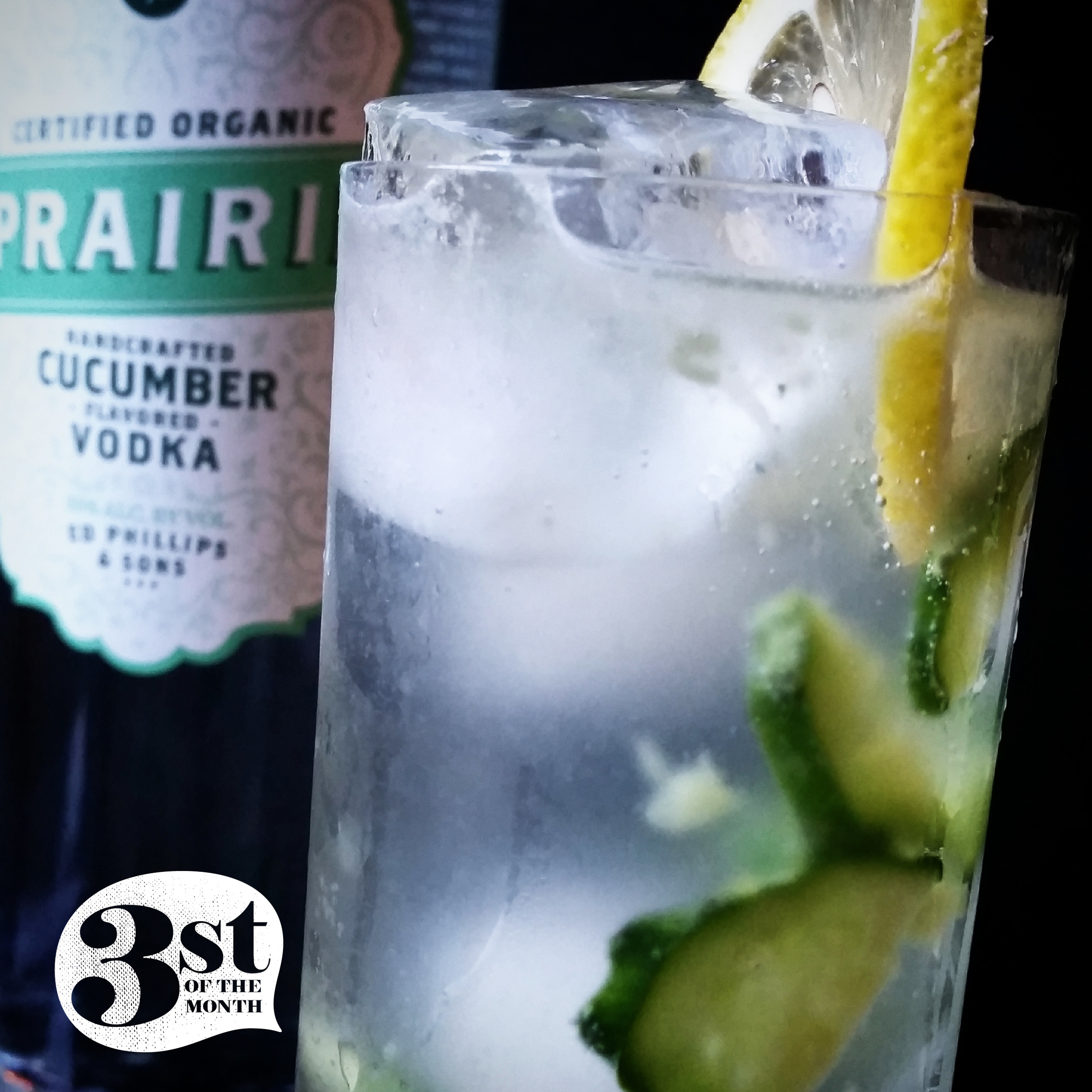 Cucumber Collins Cocktail from 3st of the Month