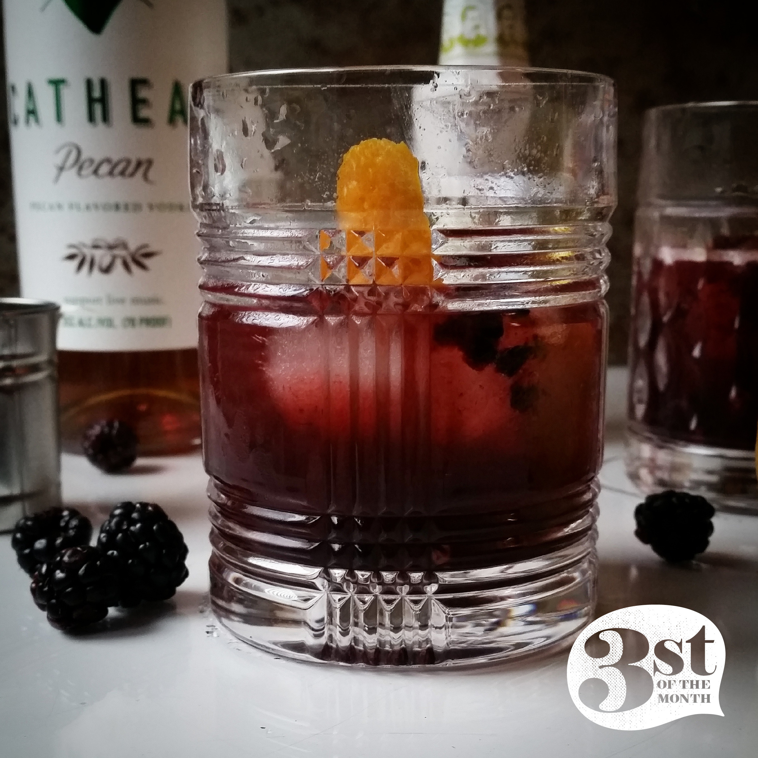 Nuts and Berries - a new cocktail creation from 3st of the Month