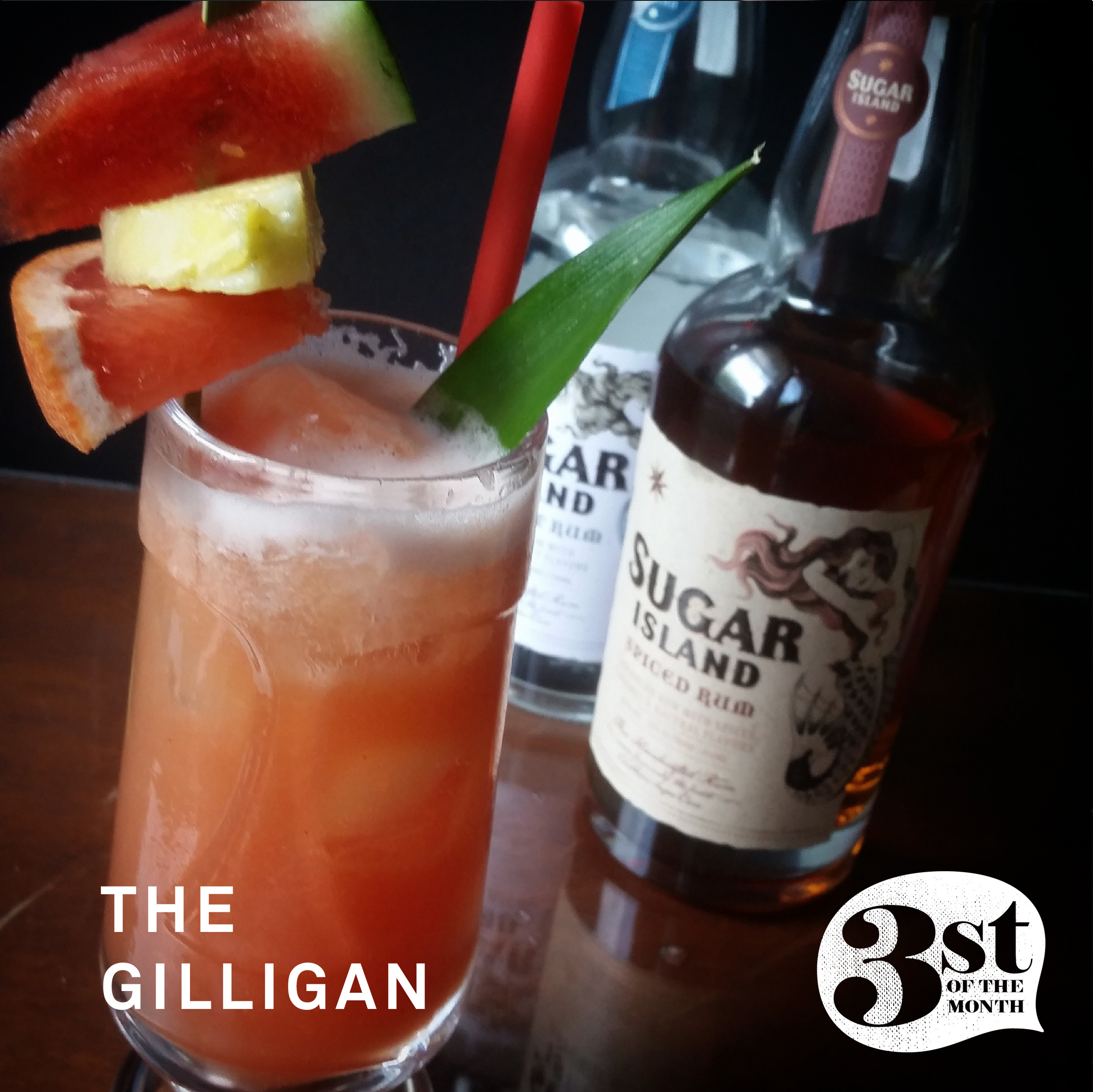 Make. This. Now. The Gilligan Tiki Drink from 3st of the Month