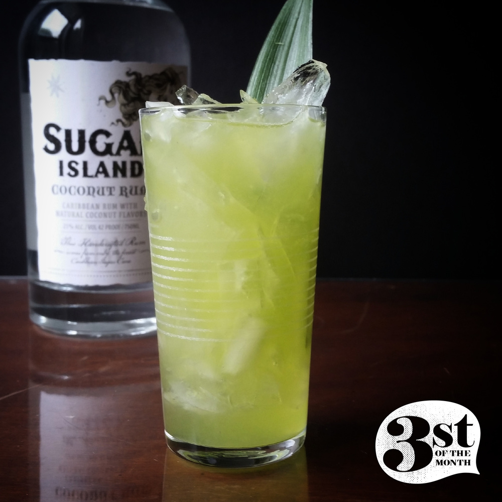 Green Coconut Cocktail   Green St Patrick's Day Drink Recipes You Must Try