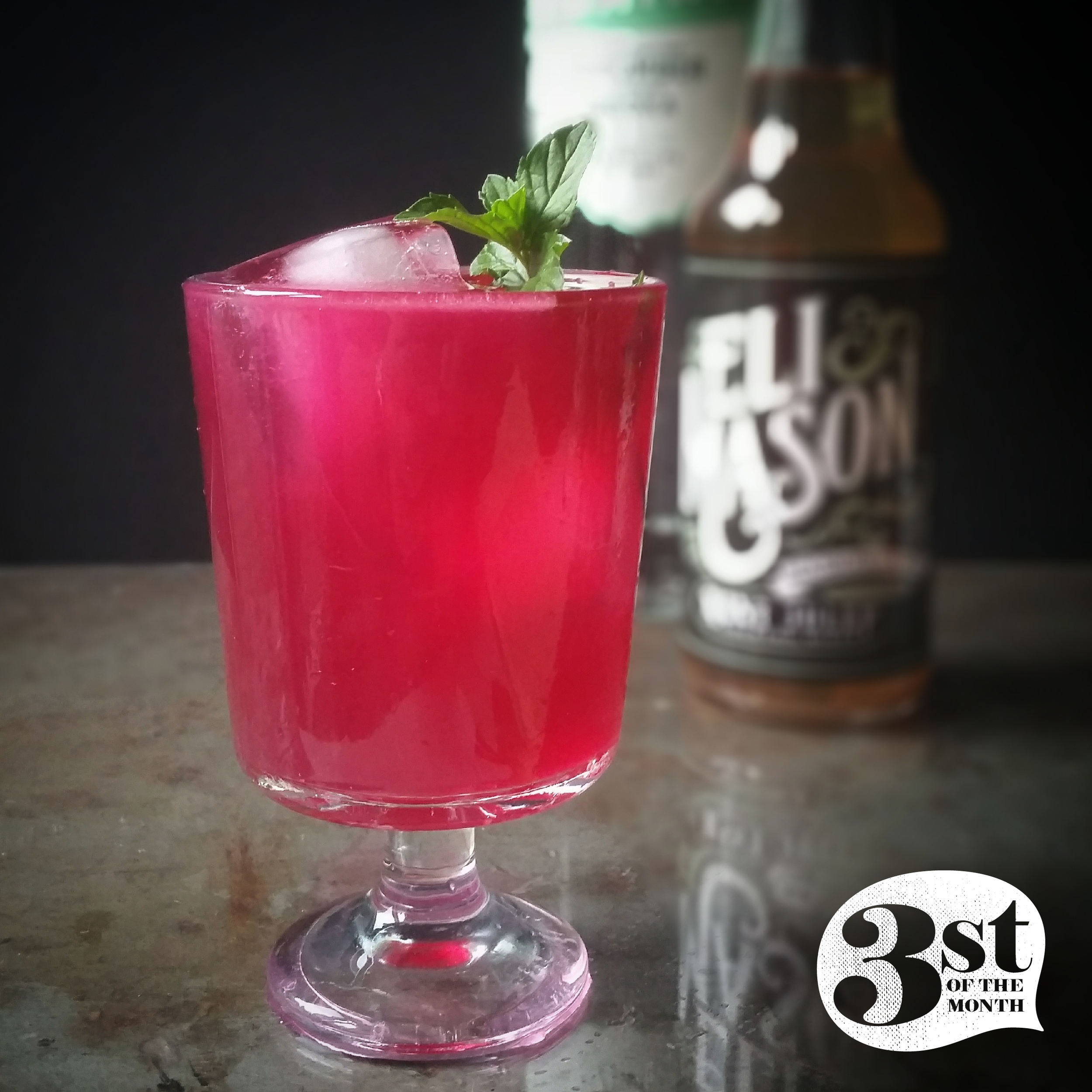 The Garden Beet cocktail from 3st of the Month