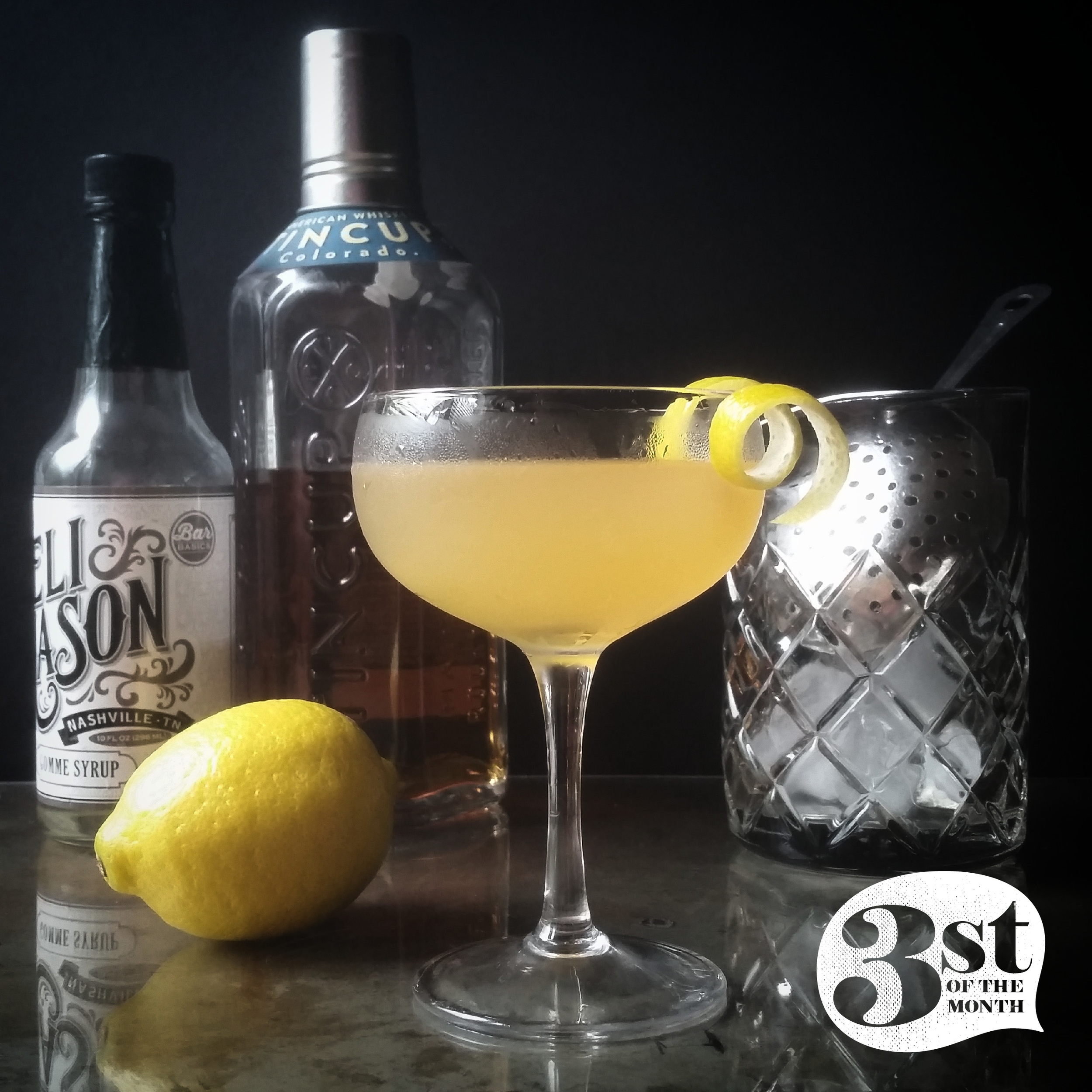 Make. This. Now. The Mountain Whiskey Sour made with TINCUP Whiskey and a rinse of Chartreuse