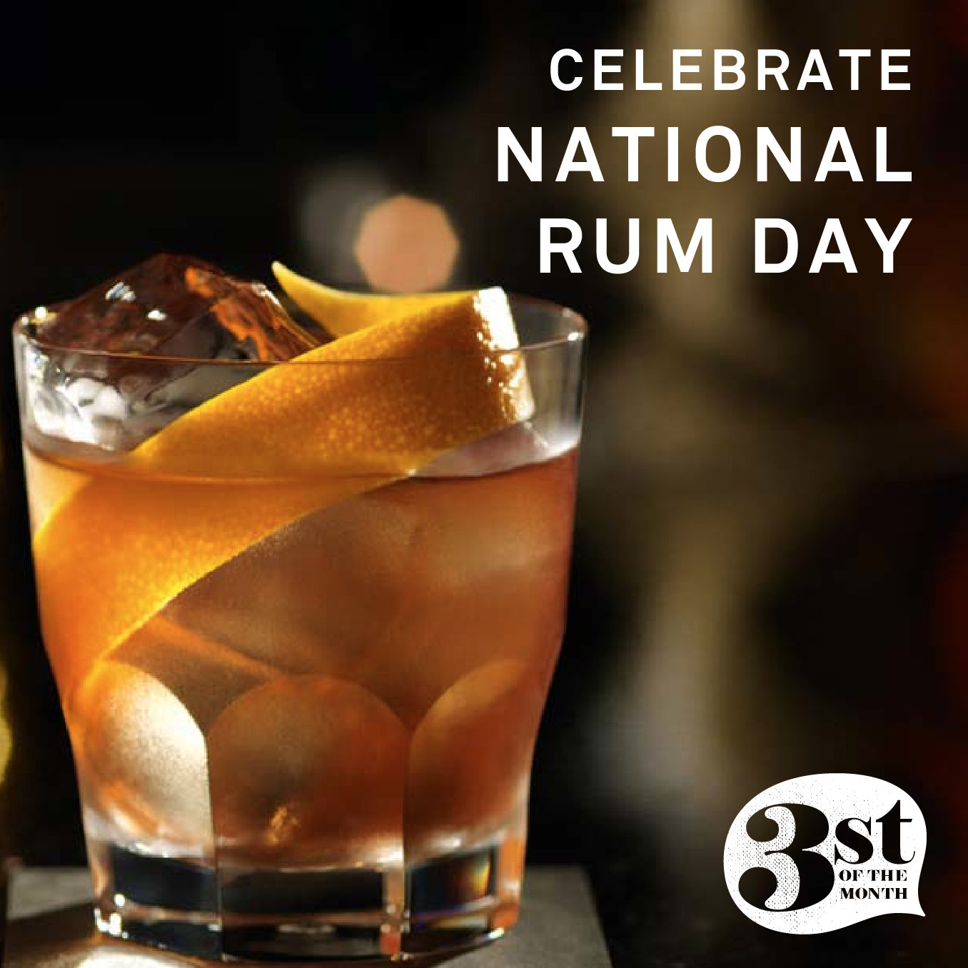 Celebrate National Rum Day!