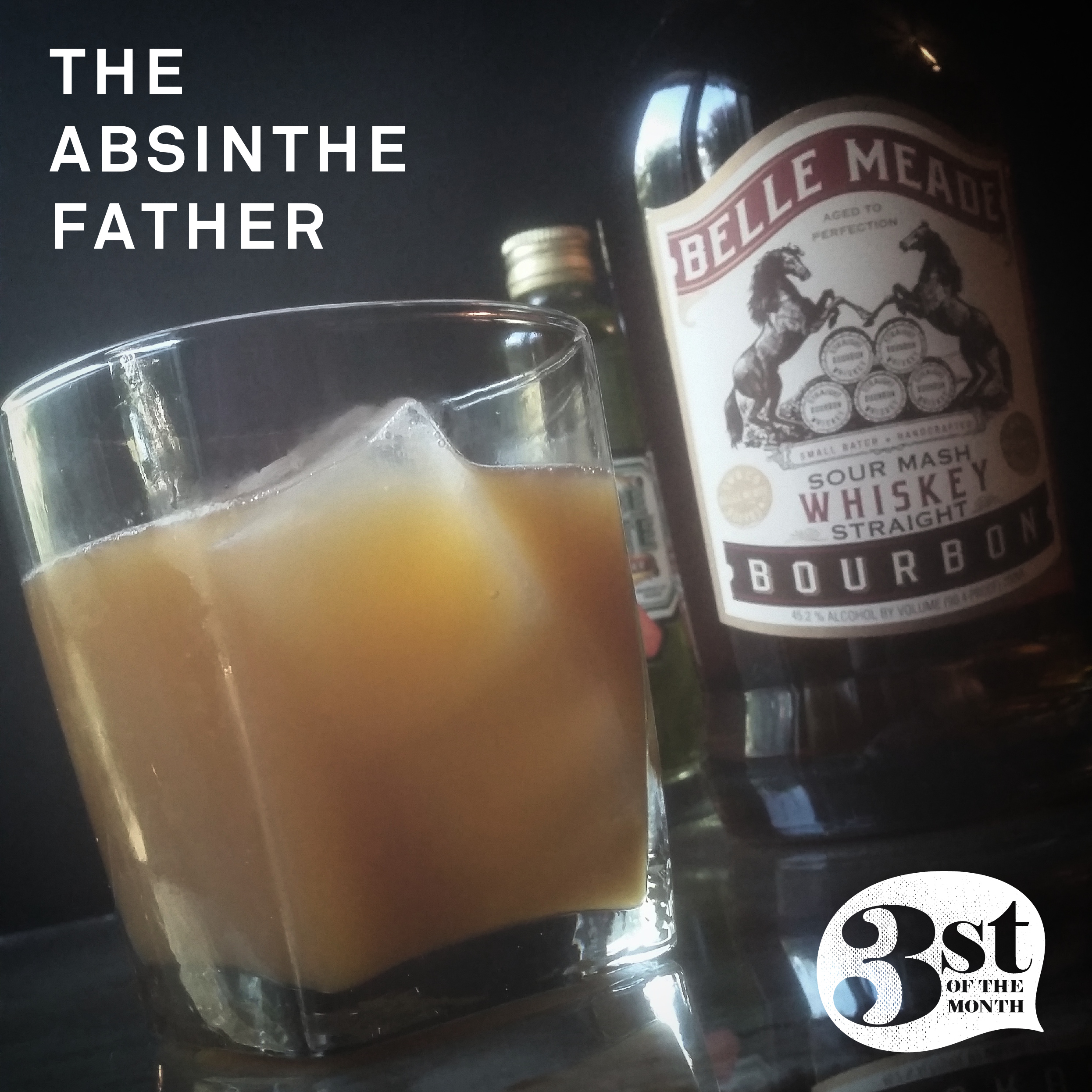 The Absinthe Father Cocktail from 3st of the Month