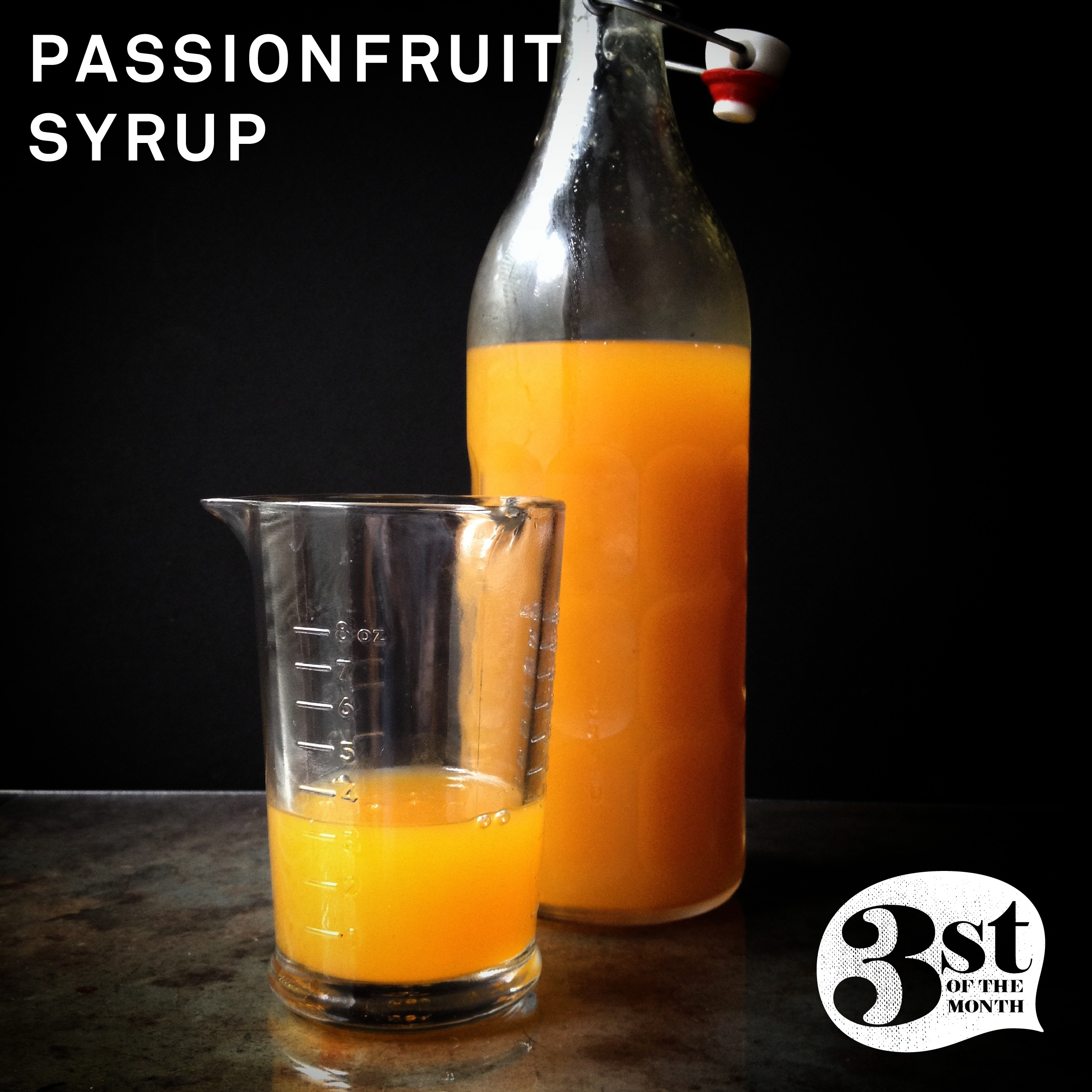 Make your own Passionfruit Syrup