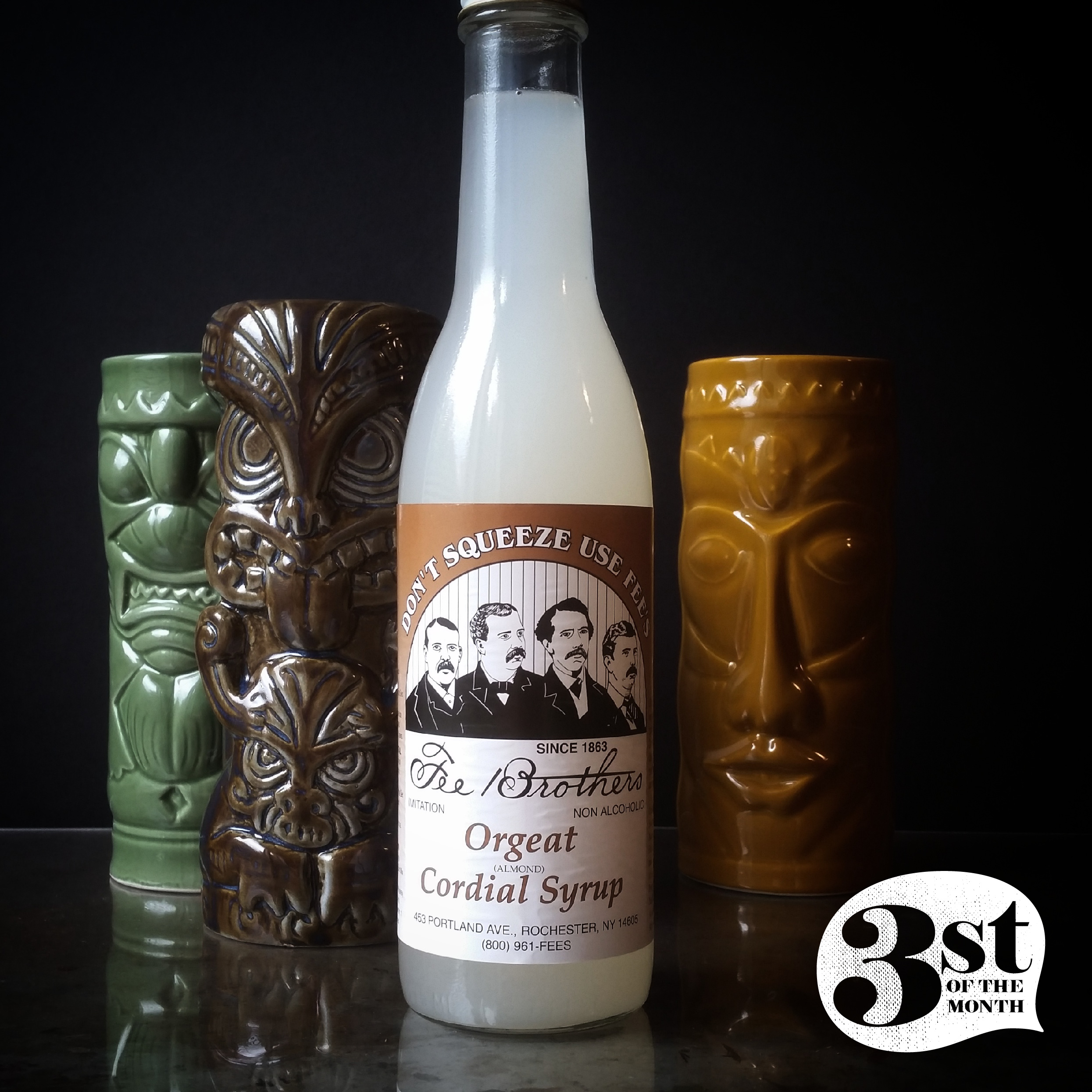 Orgeat syrup - a common component of Tiki Drinks