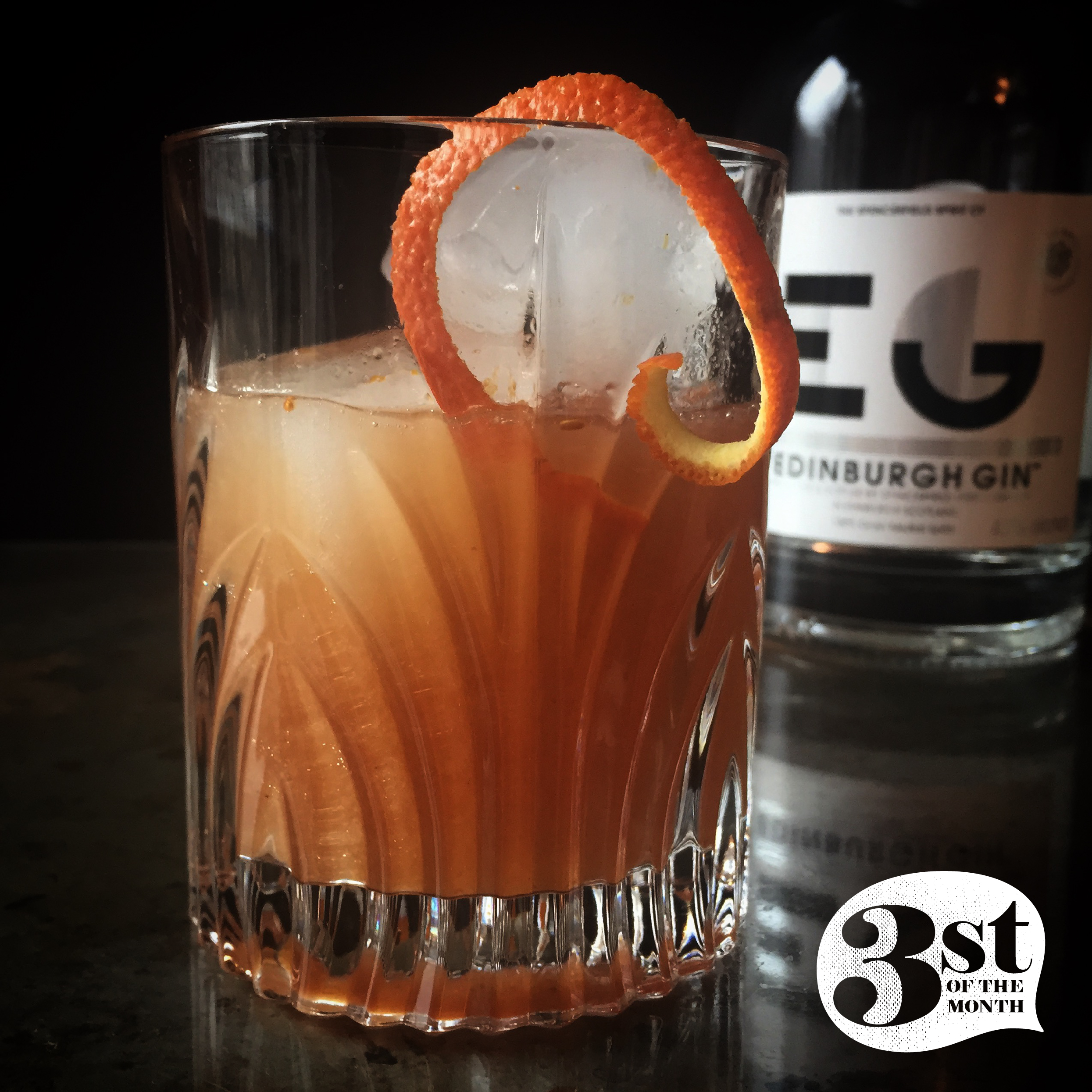 Figgy Pudding Cocktail from 3st of the Month