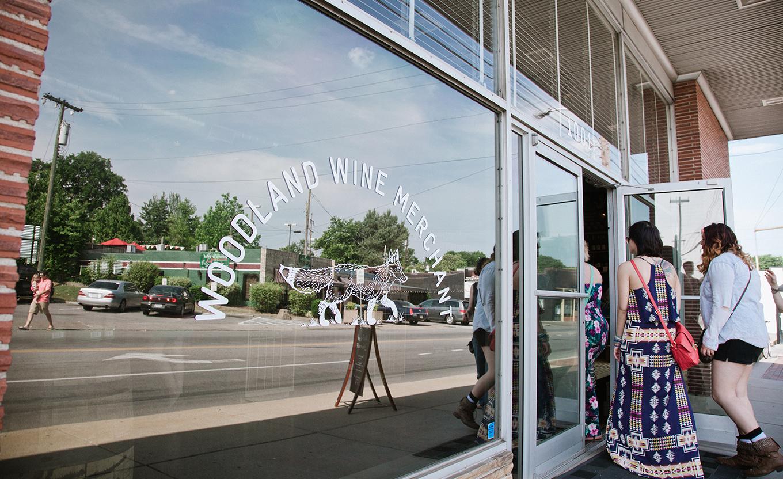 We love Woodland Wine Merchant in East Nashville