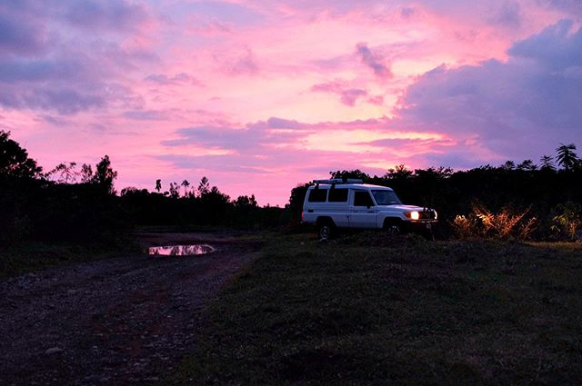 #fbf sunset in Costa Rica a couple weeks back #sunset #photography #fujiframez #costarica #travel #landcruiser