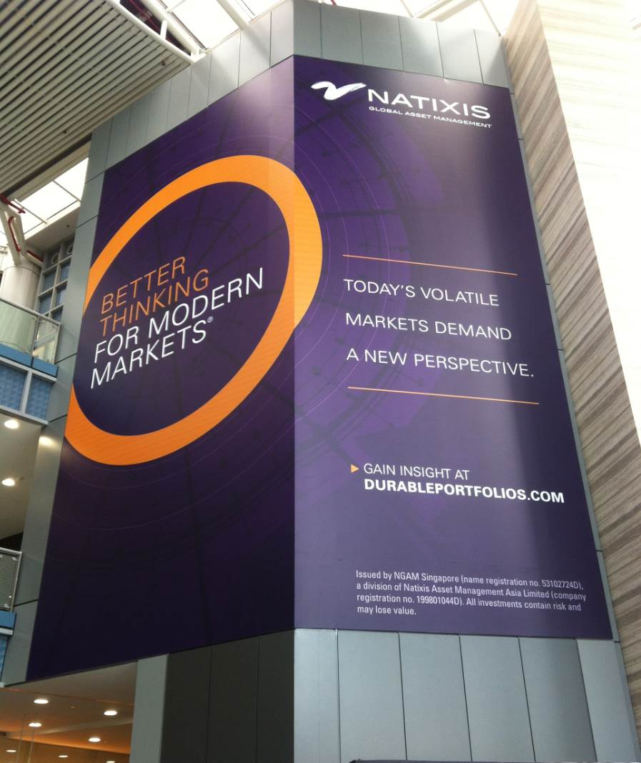 NATIXIS - LARGE SCALE SIGNAGE