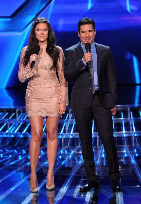 khloe-kardashian-x-factor-jennifer-behr-headband-dolce-gabbana-trumpet-sleeve-lace-dress.jpg