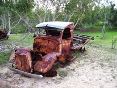 Old Cars on Demolition Row