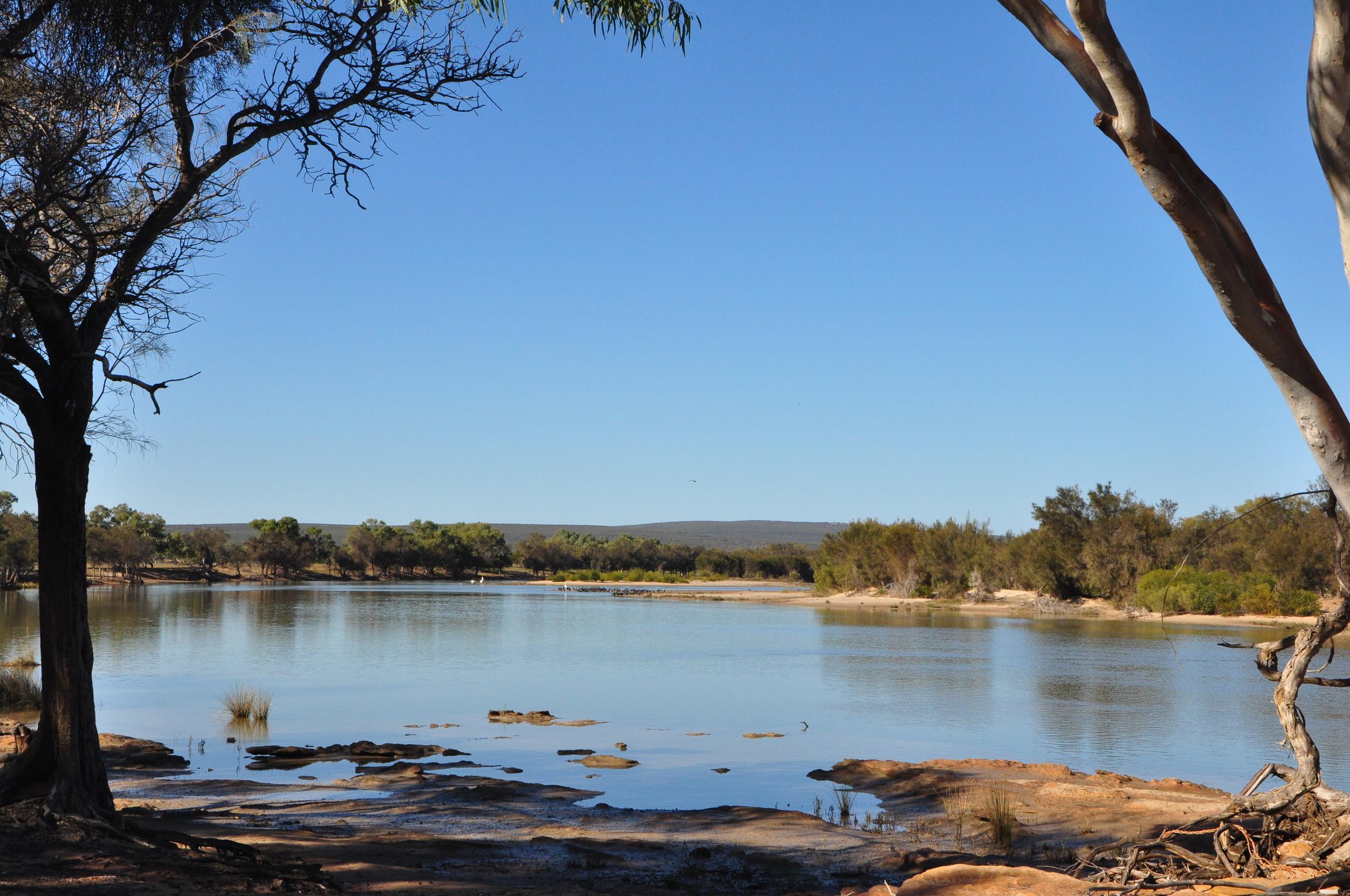 Murchison River Kalbarri Western Australia