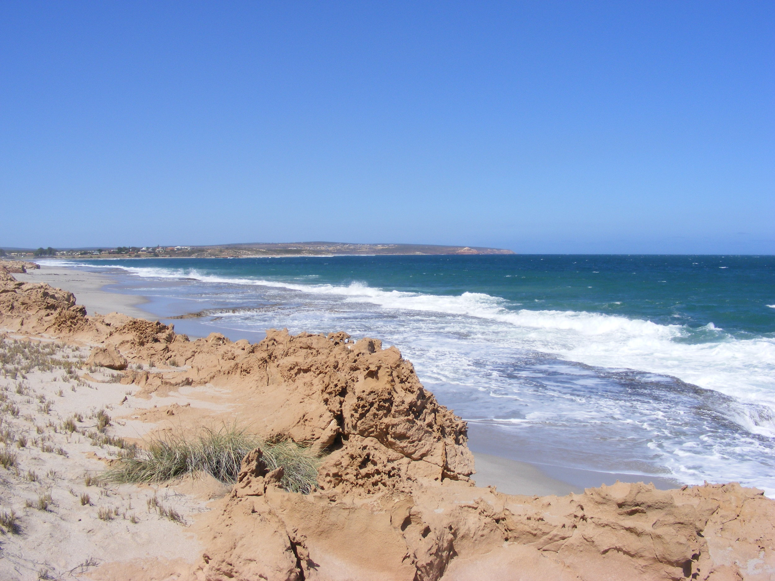 The coast at Murchison House Station Western Australia