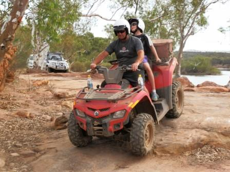 quad biking is a great family outing