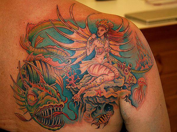Sea Dragon and Fairy