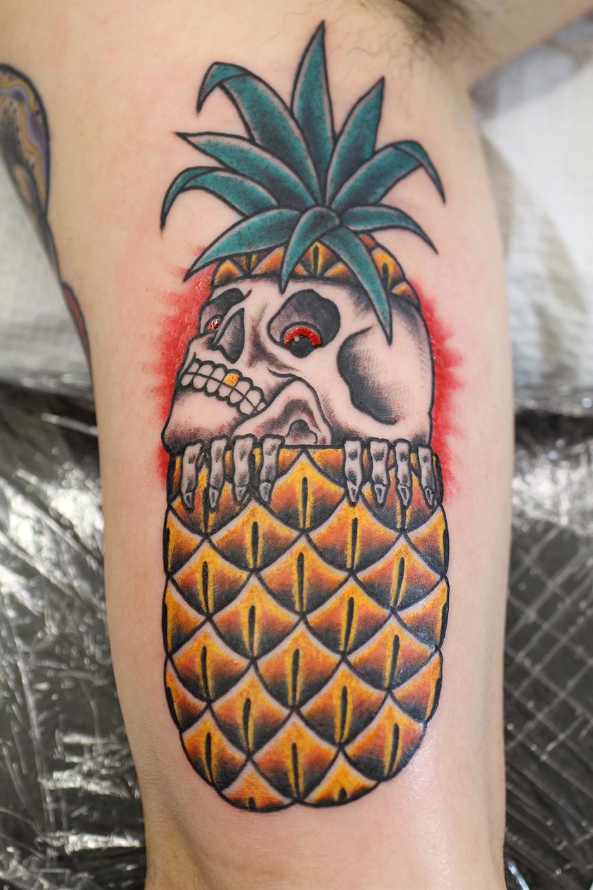 Pineapple n Skull