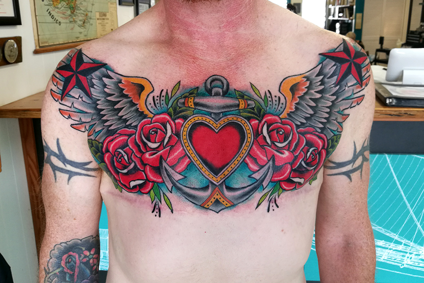 Traditional Chest Piece