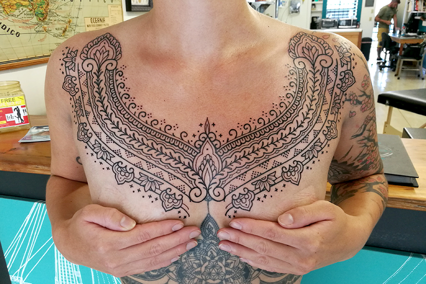 Ornamental Chest Piece ~ In progress