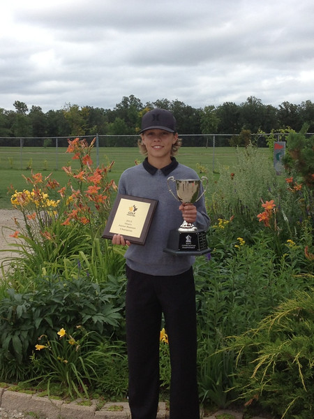 2013 Manitoba Junior Bantam Champion- Zach Wytinck -