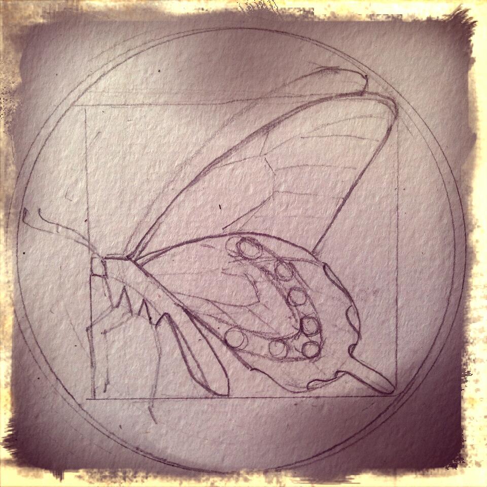 sketch for stencil #2