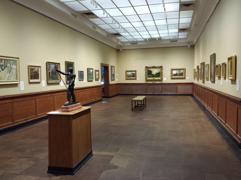 American Gallery which has paintings by John Singer Sargeant, George Bellows, Robert Henri, Charles Hawthorne, John Henry Twachtman, Childe Hassam to name a few!!