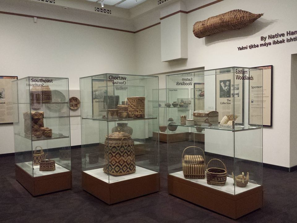 amazing Native American basket collection...including the smallest basket in the world... way too small to be in pic!