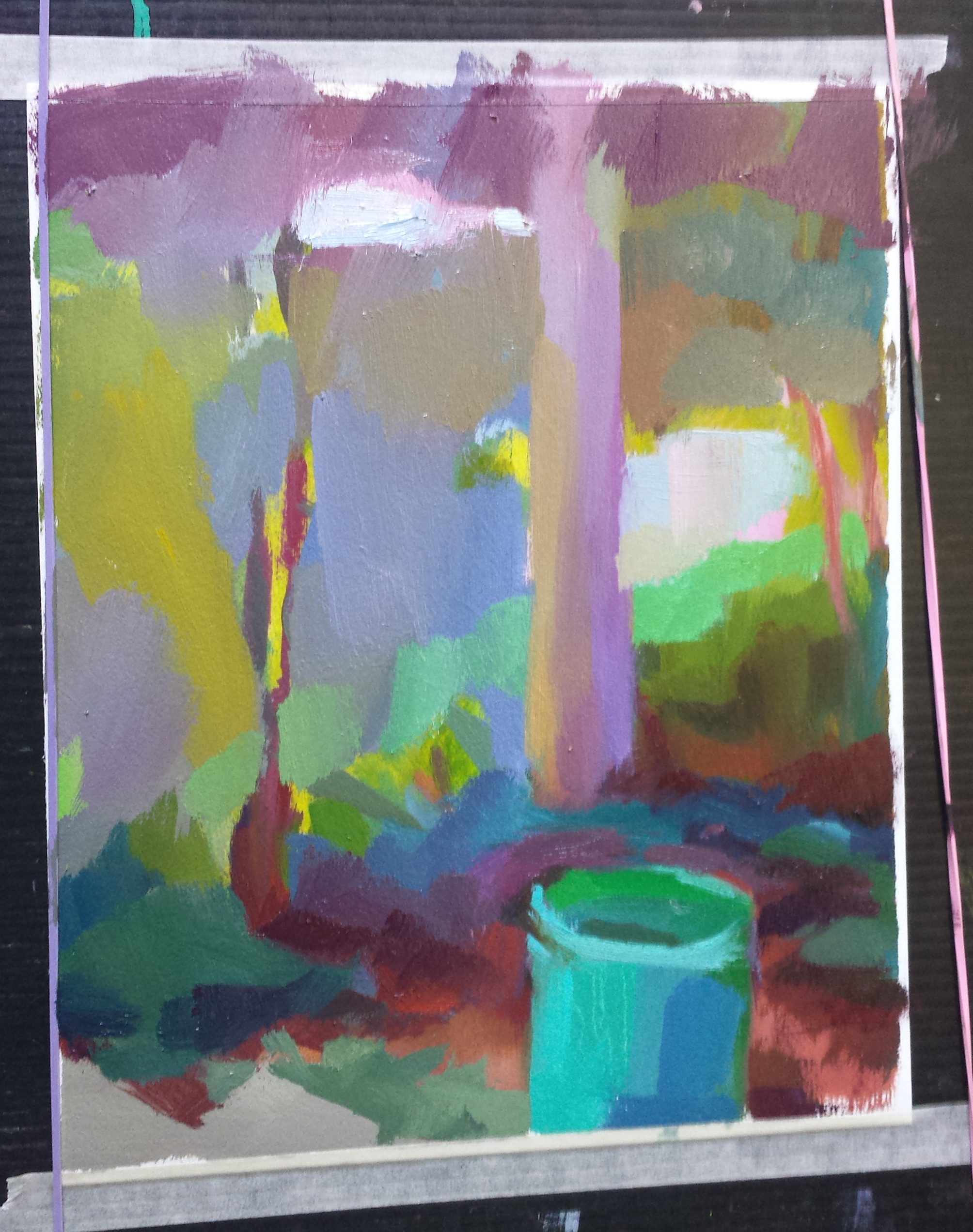 day 3...simple shapes and colors are getting stronger
