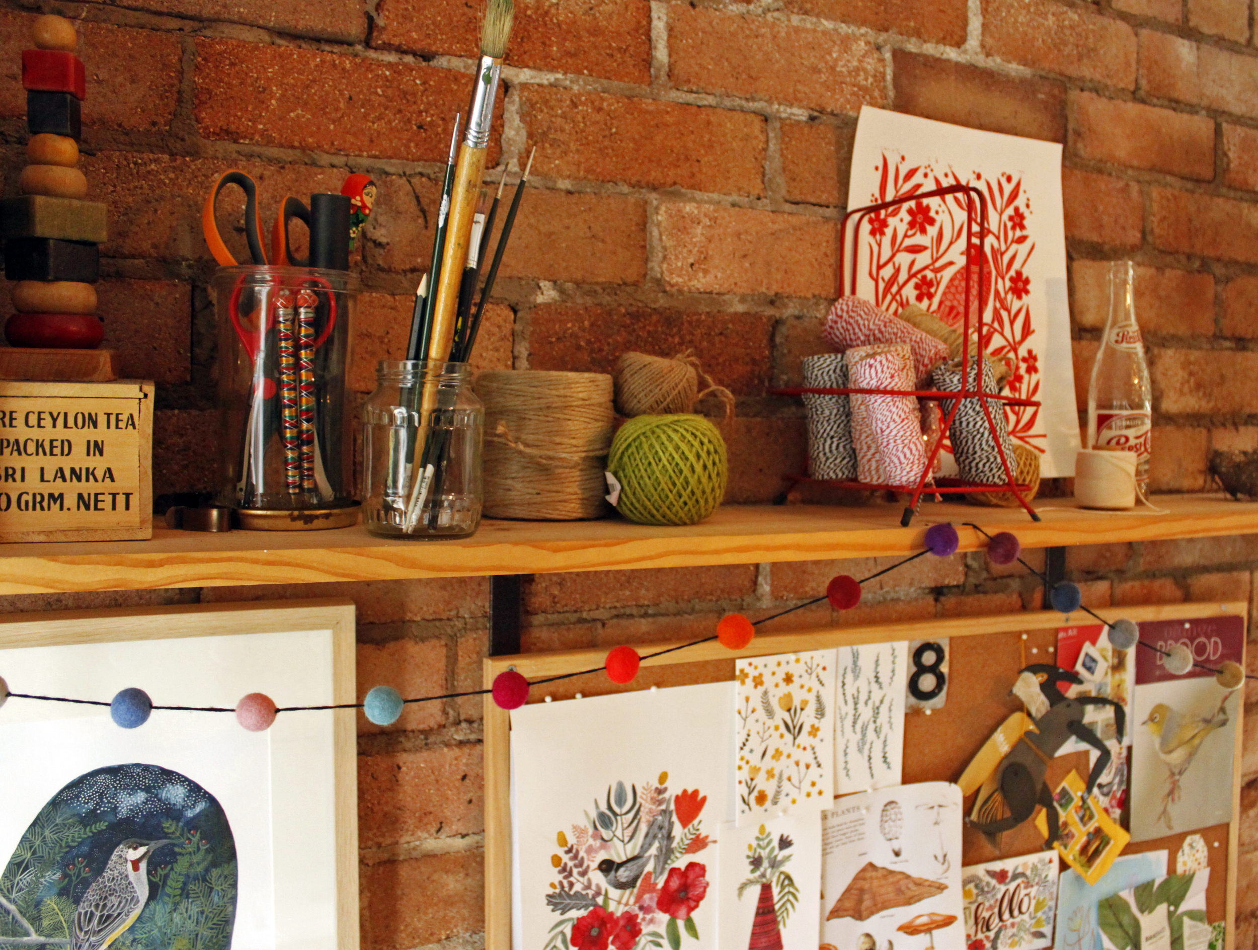 Australian Artist Studio Visit - Amelia Herbertson, The Corner Store Gallery, Orange NSW, photograph by Madeline Young