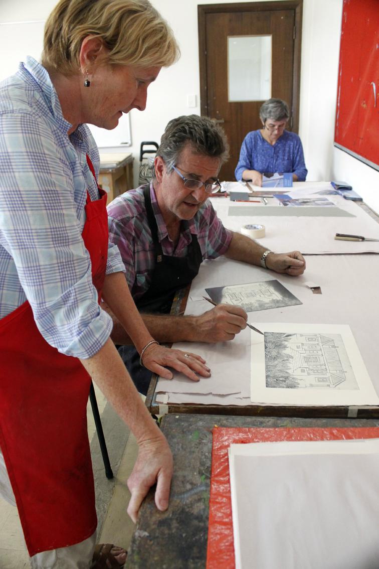 Basil Hall, master printmaker
