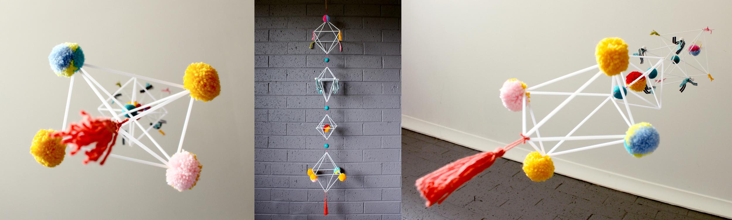 DIY Diamond Garland Workshop, The Corner Store Gallery, Orange NSW