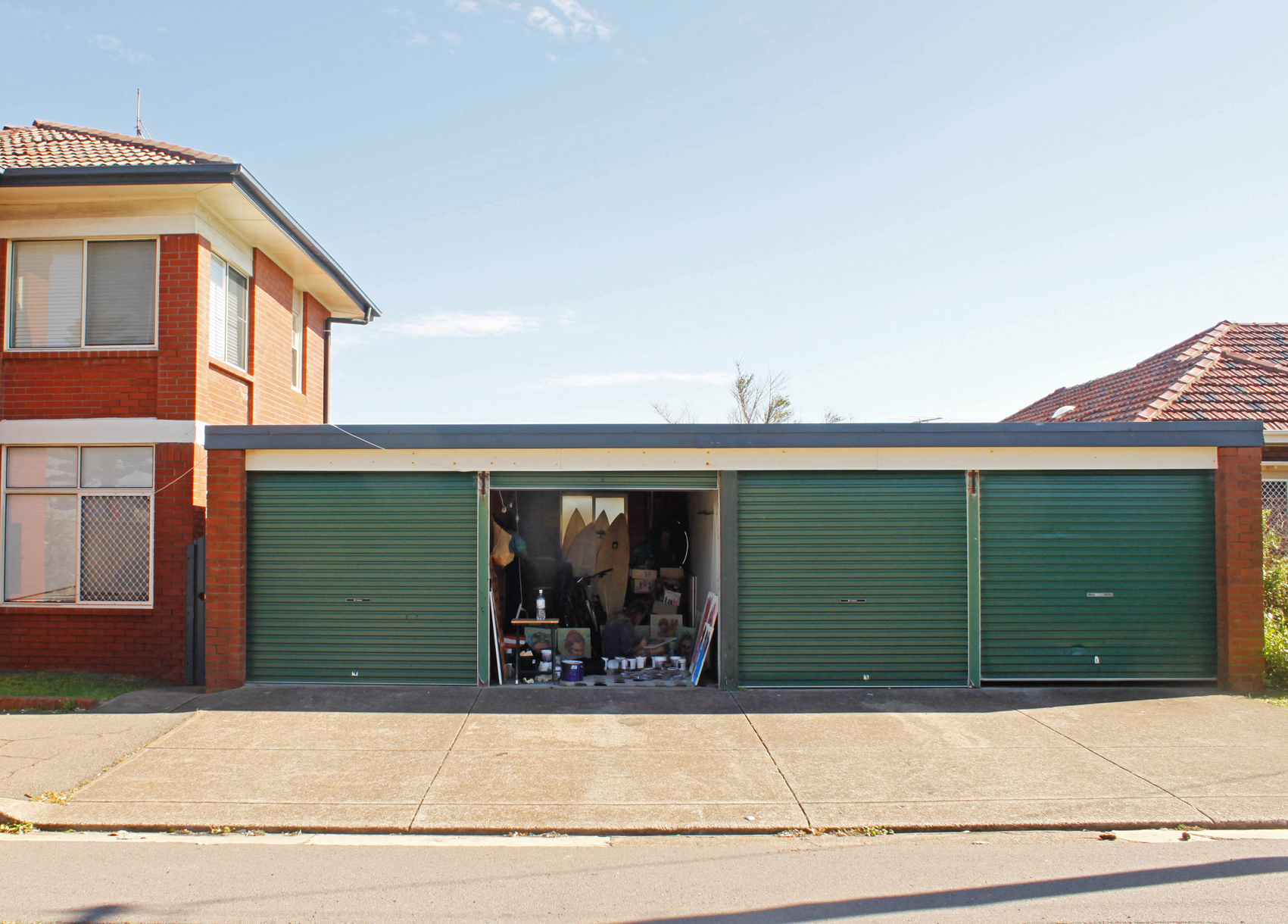 Australian Artist studio visit - Alex Ball (Umpel), The Corner Store Gallery, Photograph by Madeline Young