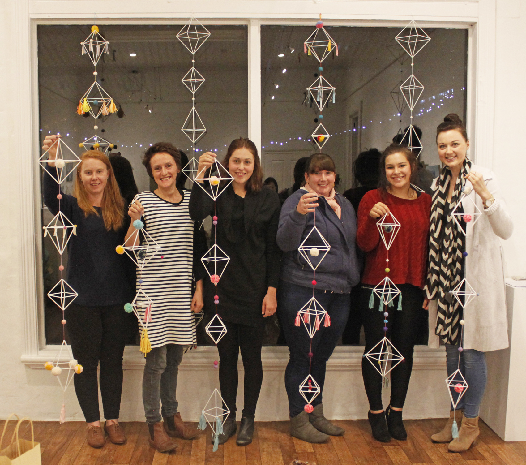 DIY Diamond Garland Workshop with Jacqueline Chan, The Corner Store Gallery
