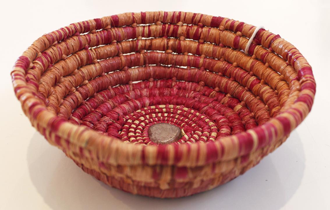 Lanny Mackenzie - Basket Weaving Workshop, craft party, The Corner Store Gallery, Orange NSW