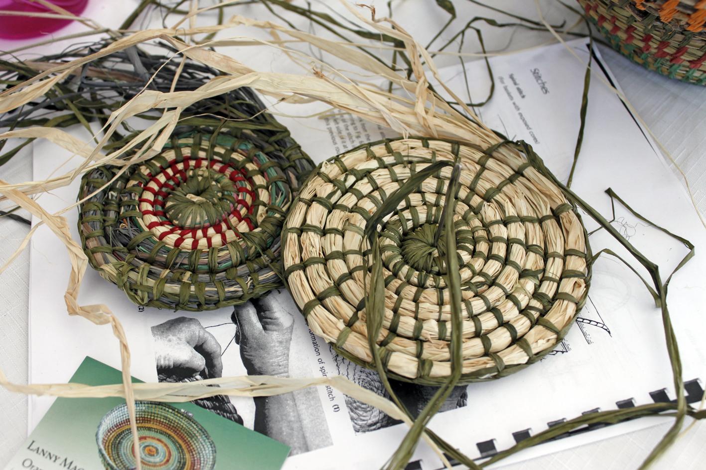 Basket Weaving Workshop with fibre artist Lanny Mackenzie, The Corner Store Gallery, Orange NSW