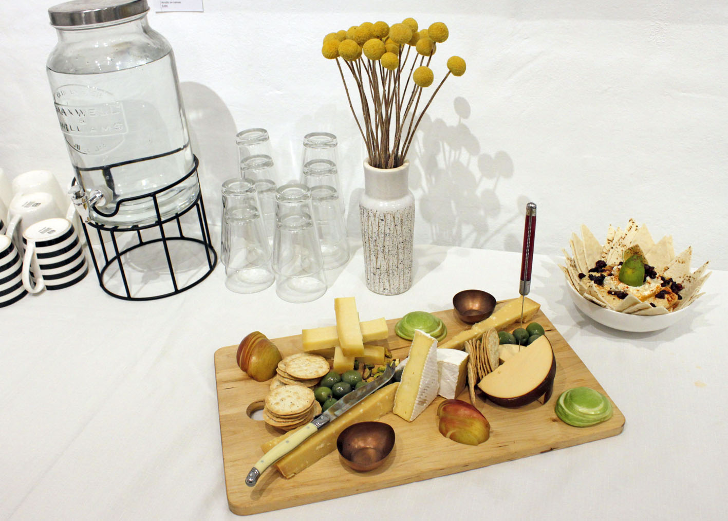 Beautiful cheese board by our in-house chef Erick Holborow