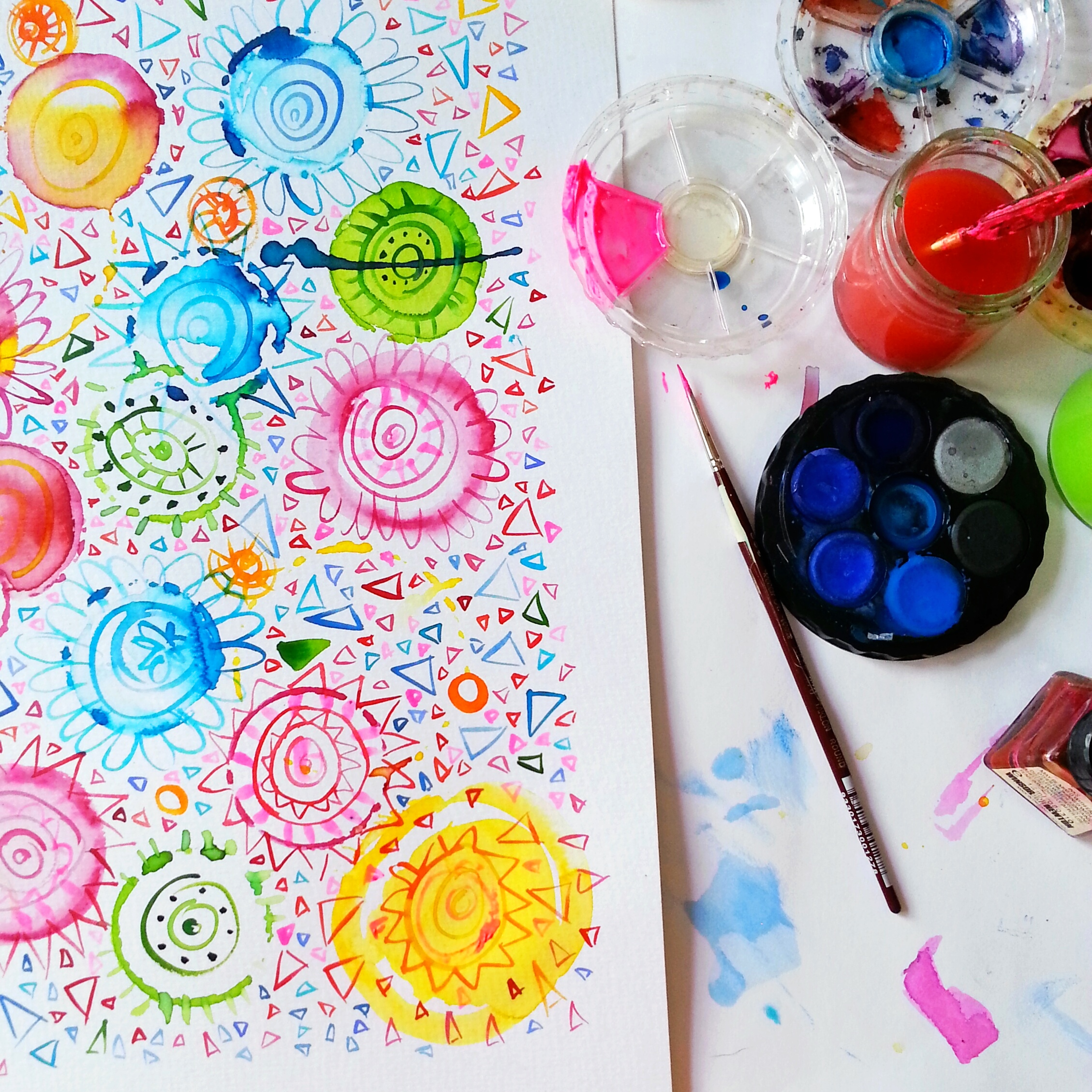 Watercolour workshop with Shani Nottingham - The Corner Store Gallery, Orange NSW