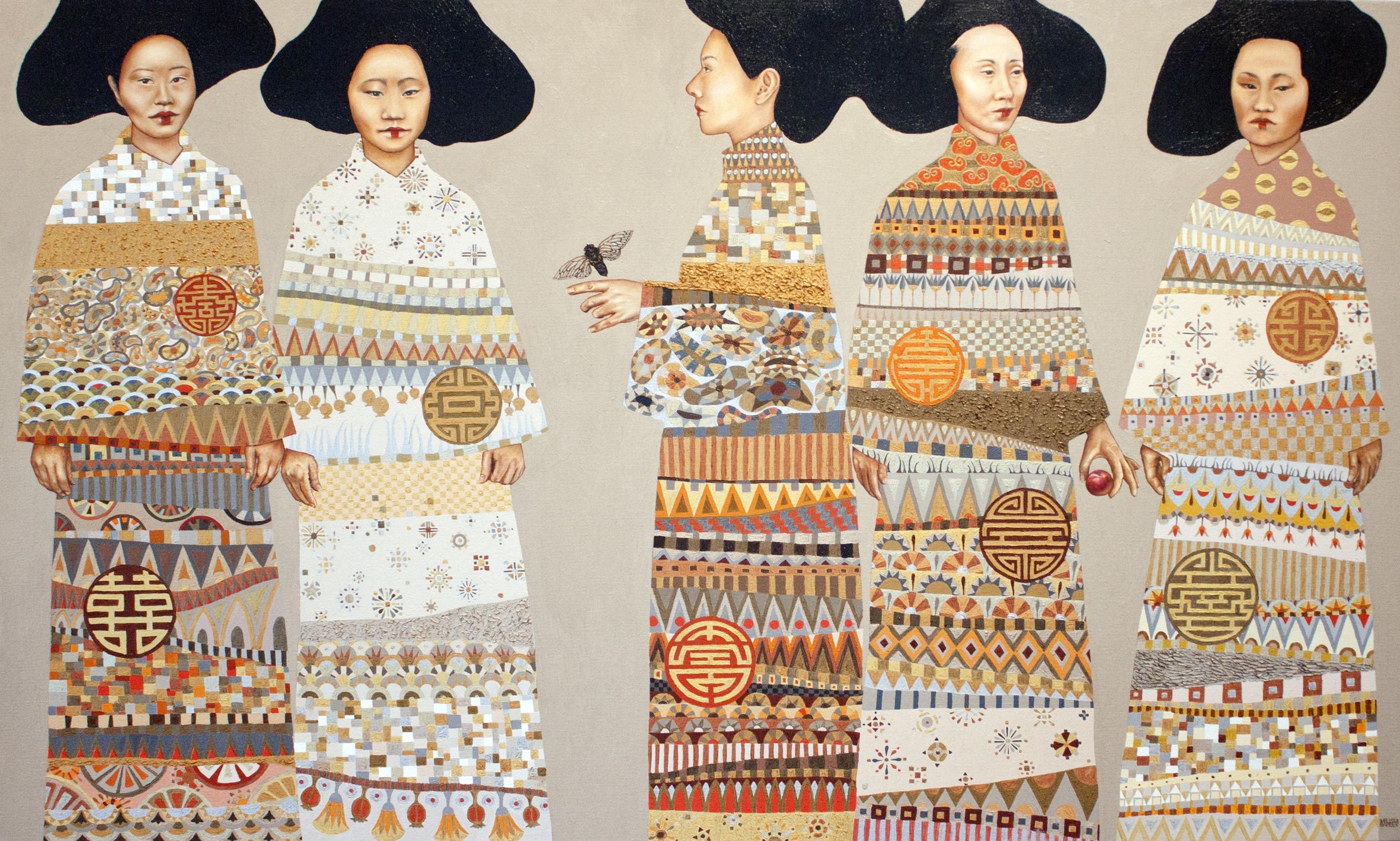 Melissa Barber, The Cicada and the Plum  - The Corner Store Gallery, Orange NSW